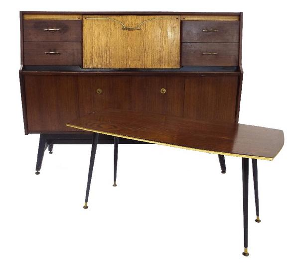 1950s cocktail cabinet by Beautility