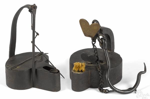 Henry Boker iron miner's lamp