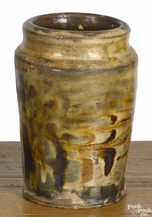 American redware jar