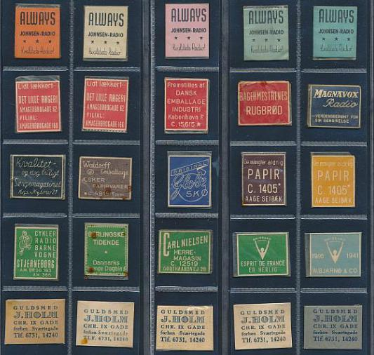 STAMP MONEY. Lot with 25 ex.