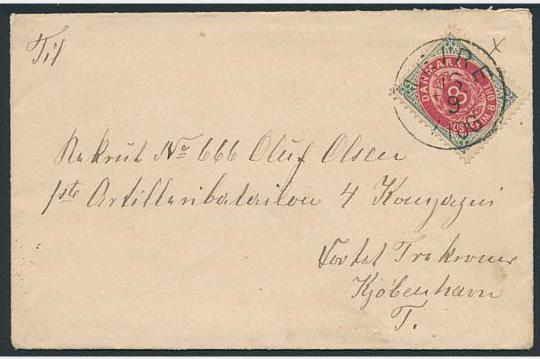 1875. 8 øre