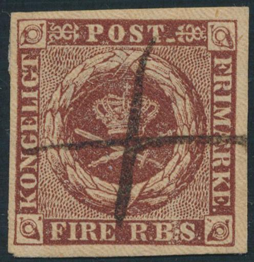 1851. 4 RBS Ferslew. Fine copy with pen-canc.
