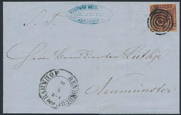 1853. 4 RBS Thiele II, dark redbrown