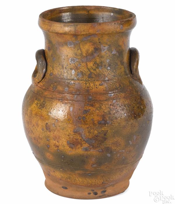 Pennsylvania redware vase