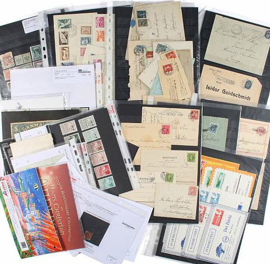 Denmark etc. Fine lot older auctions-lots incl. many better items