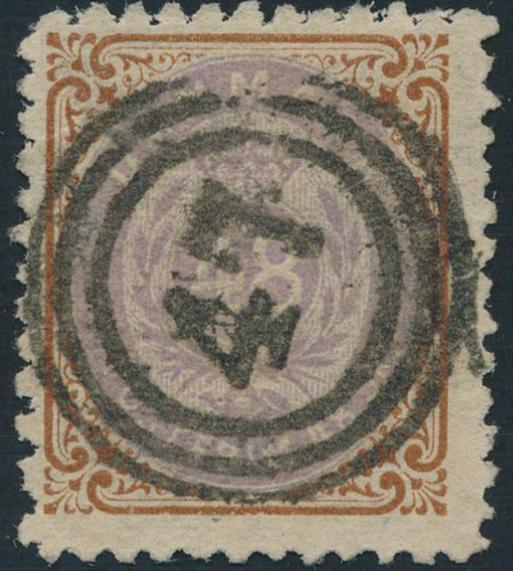 1870. 48 sk. brown/purple. Fine used copy