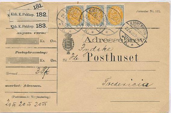 1895. 100 øre, 8.print. Exhibition page