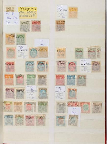 Iceland. 1875-2015. Coll. in 2 albums with many better early issues and 1995-2015 complete NH incl. booklets etc.