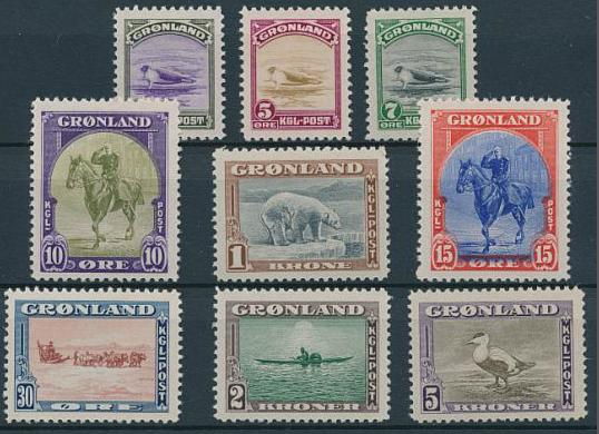 American Issue. Complete NH set