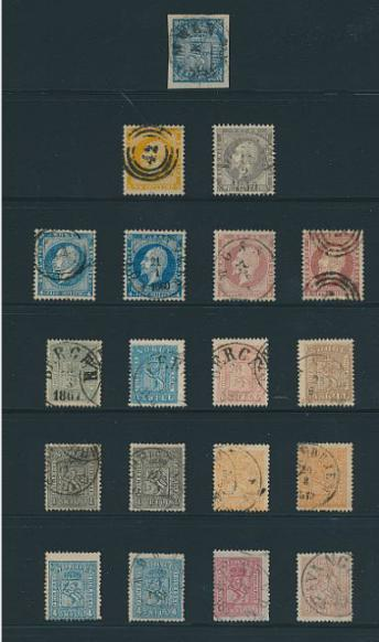 Norway. 1855-1987. Well-filled collection in a thick album