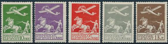 1925-29. Airmail. Complete set in NH quality. AFA 6300