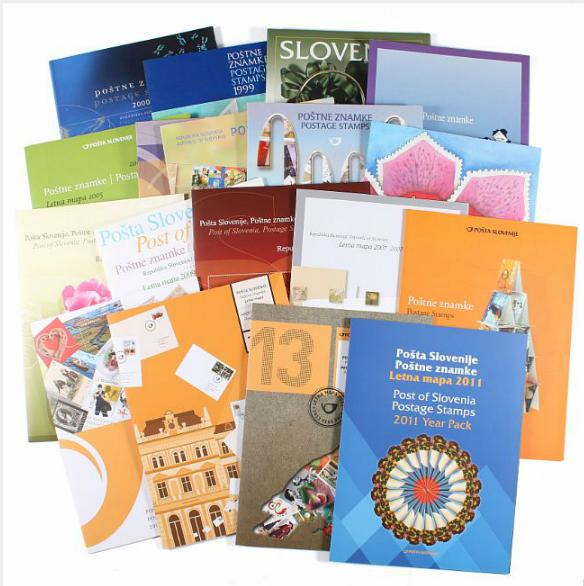 Slovenia. Collection year-folders 1997-2015 complete !