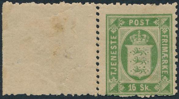 1871. 16 sk. green. Perf. 12. Unused. AFA 3000