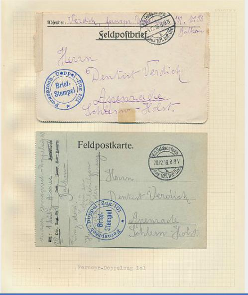 Europe. Interesting coll. 1.WW covers etc.