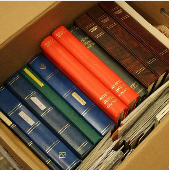 Brittish Commonwealth. 2 large boxes.