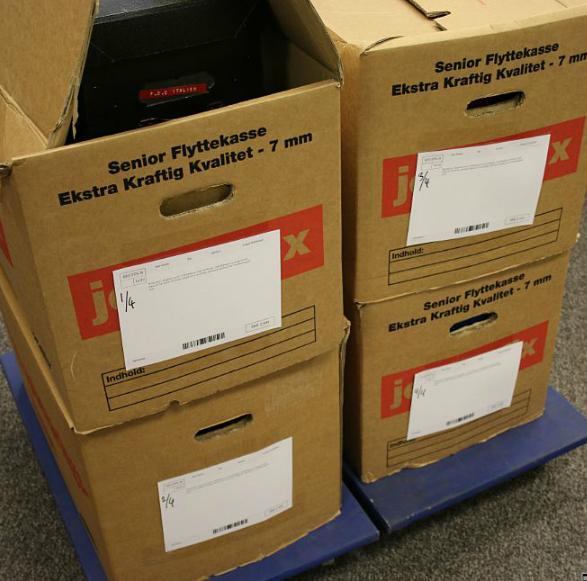 World. 4 large boxes.