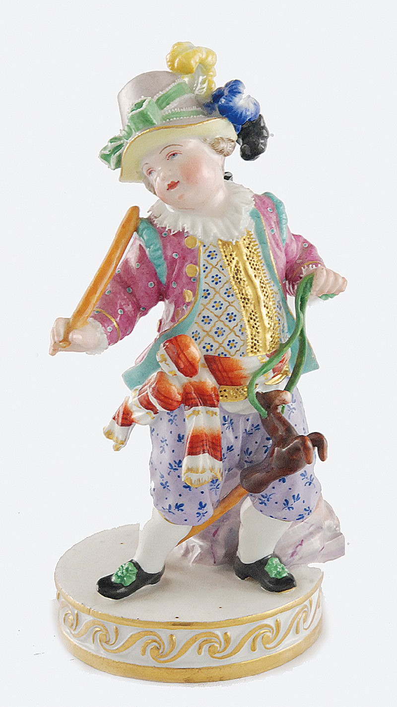 Boy with toy - tailstock