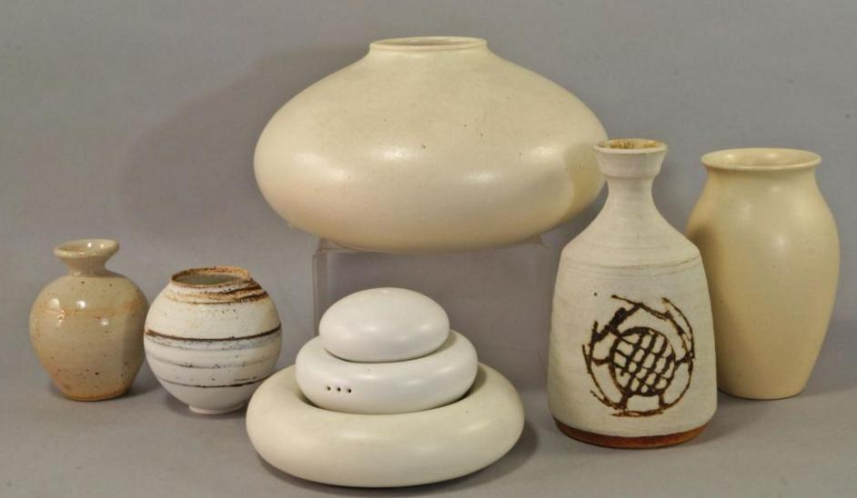 An Amado squat vase