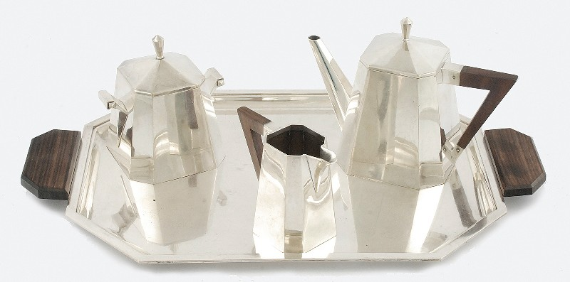 Tea service art deco
