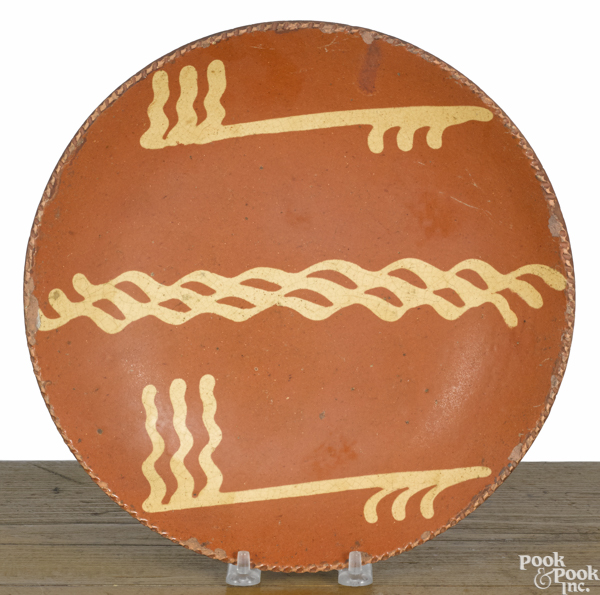 Pennsylvania redware plate