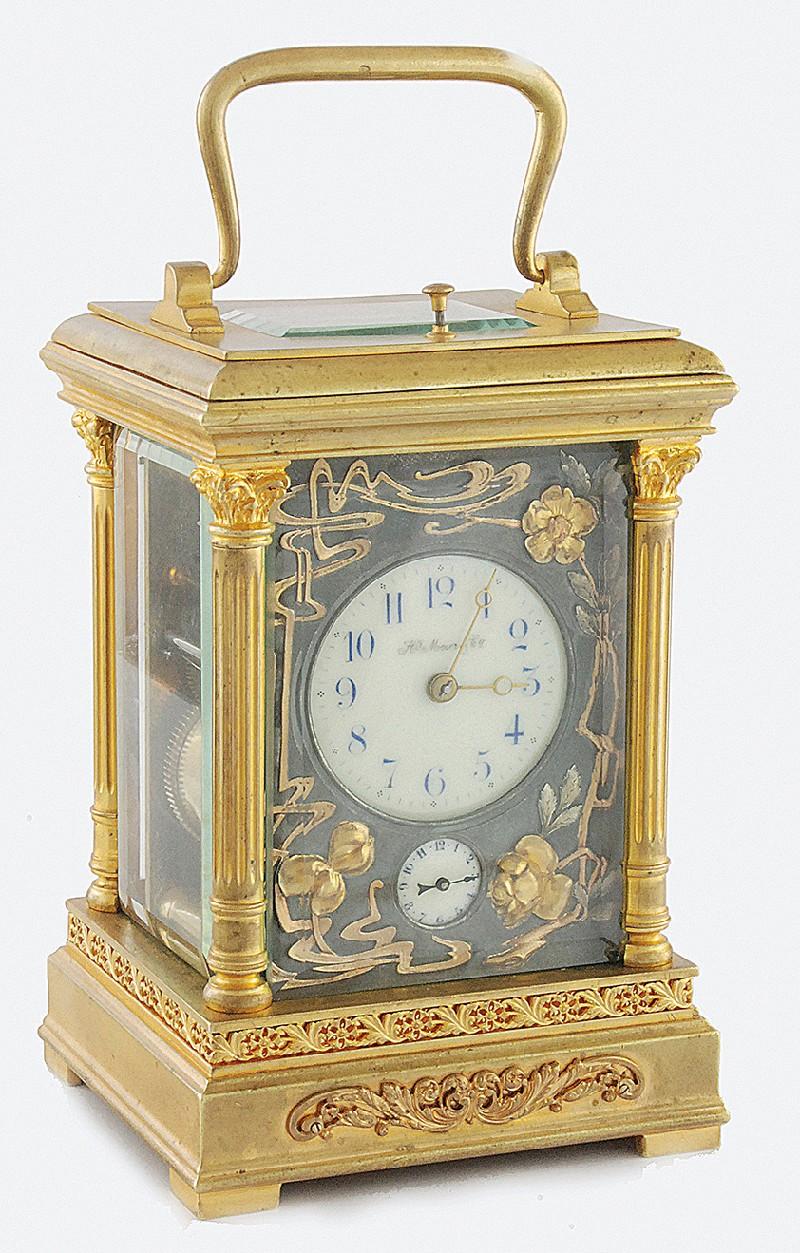 """Travelling clock, so-called. """"Kareciak"""""""