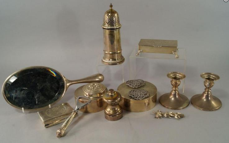A collection of Portuguese silver