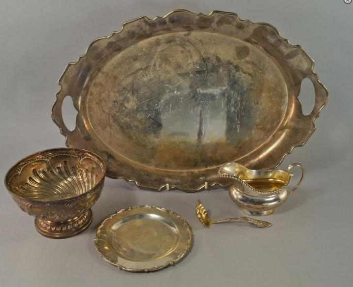 A William IV silver bowl