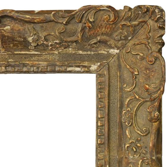 A French Carved and Gilded Louis XIV Style Frame