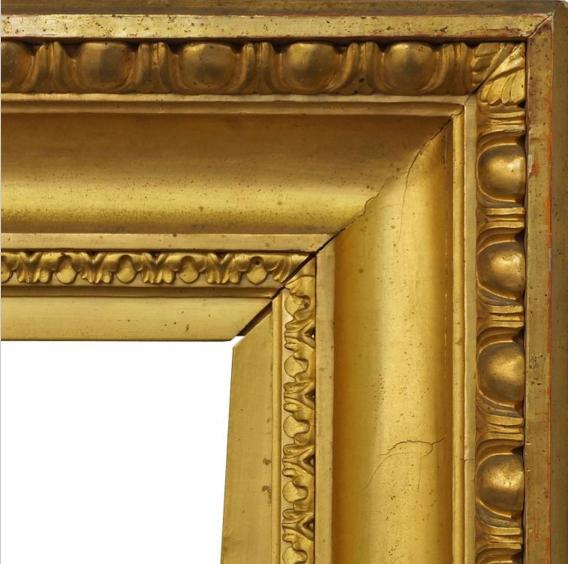 A French Gilded Neoclassical Style Frame