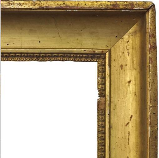 A French Gilt Composition Bourbon Restoration Frame