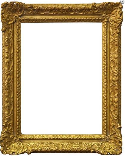 An English Gilt Composition Louis XIV Style Frame