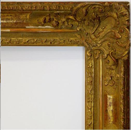 A Gilt Composition Louis XIV Regence Style Frame