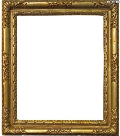 An Italian Carved and Gilded Frame
