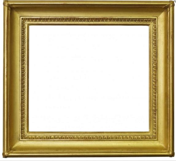 A Reproduction Gilt Composition Neoclassical Style Frame