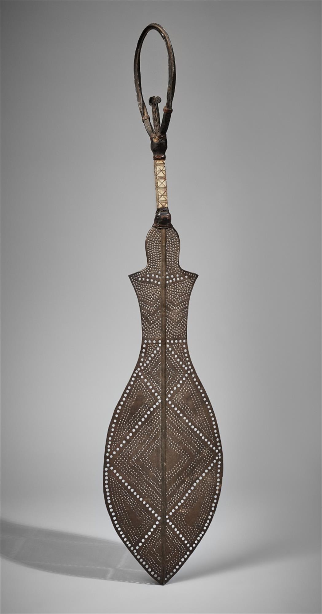 A BENIN CEREMONIAL SWORD