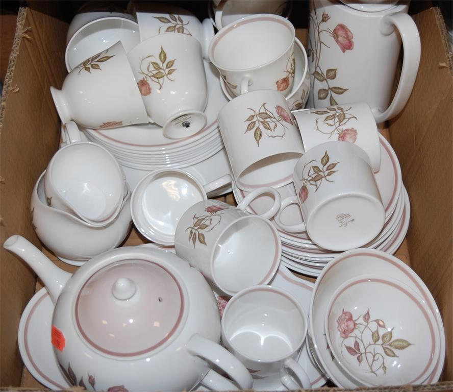 A Wedgwood part tea service in the Susie Cooper design