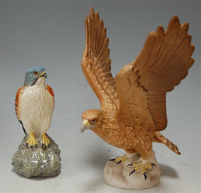 A Beswick figure of a golden eagle