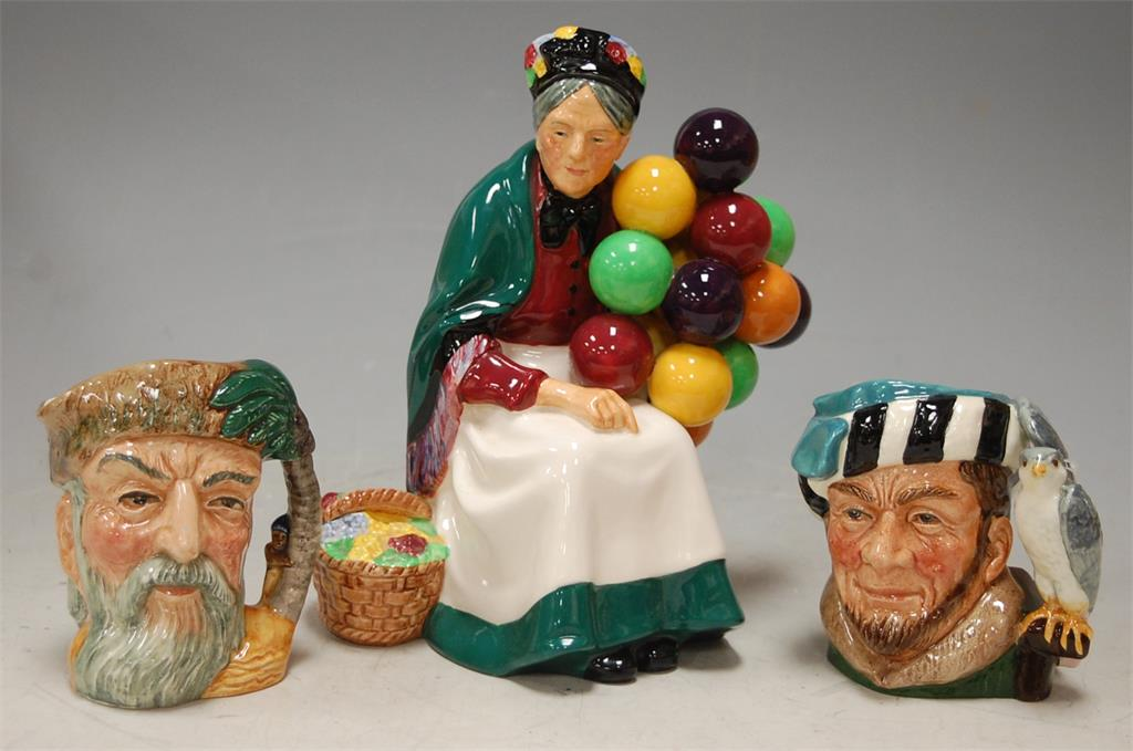 A Royal Doulton figure of The Old Balloon-Seller HN1315