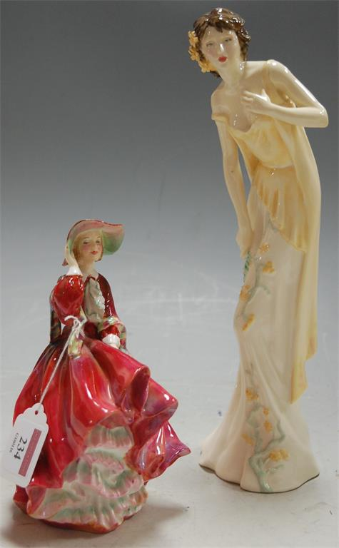 A Royal Doulton figurine Top o' the Hill HN1834