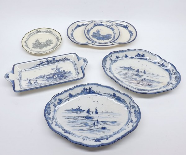Mixed Lot: Royal Doulton Norfolk wares
