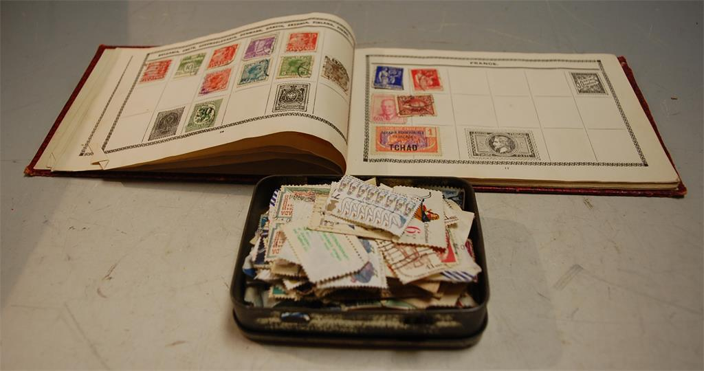A Cromwell Series stamp album for British