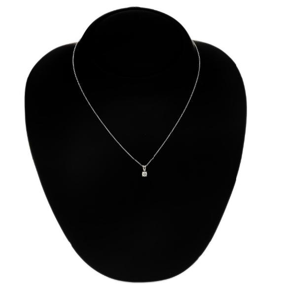 A diamond pendant set with a brilliant-cut diamond weighing app. 0.30 ct.