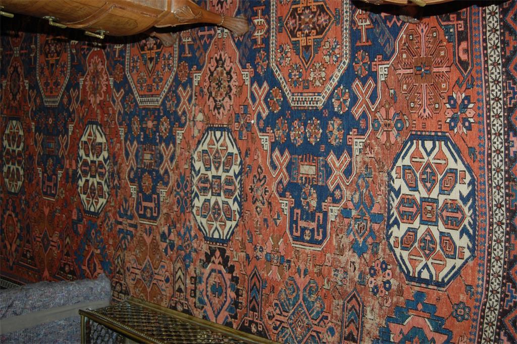 A Persian kelim rug
