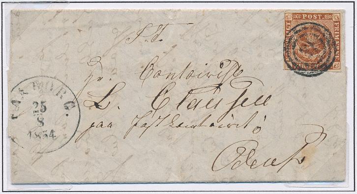 1854. 4 RBS Thiele III, chestnut brown