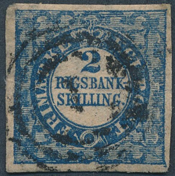 1851. 2 RBS Thiele. Used copy with small thin