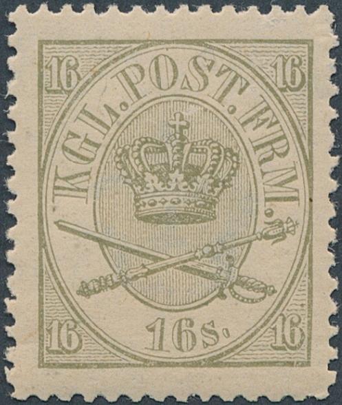 1864. 16 sk. Olive