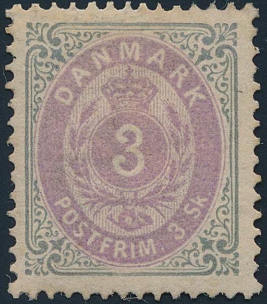 1871. 3 sk. Fine NH copy