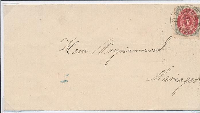 1870. 4 sk. Inverted frame