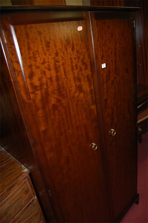 A Stag Minstrel double door wardrobe