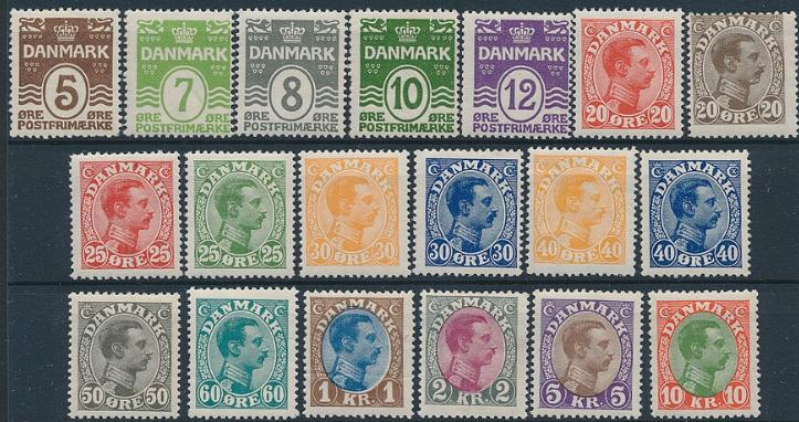 1921-1927. Better nh stamps. AFA: 11560